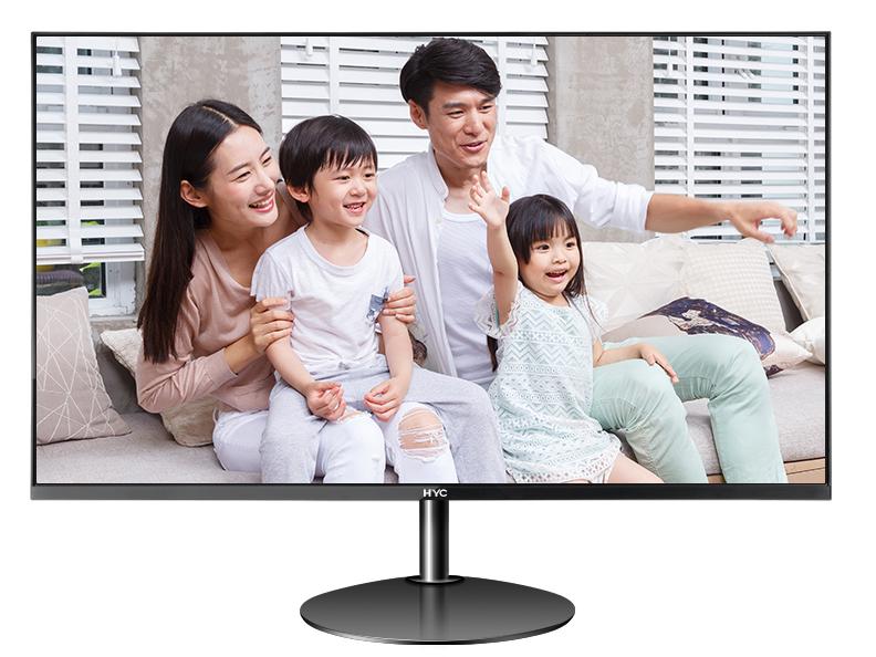 HYC K24E 24寸 IPS 无边框 1920*1080分辩率 VGA\HDMI\音频接 口