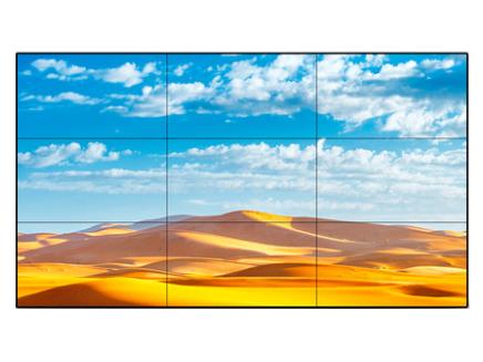 LG 55TMA1 55寸LED,LG 屏;拼缝0.88mm,分辨率1920*1080;屏幕宽高比16:9;对比度1400:1;可视角度178°;响应时间8ms;色彩16.7M(8bit)
