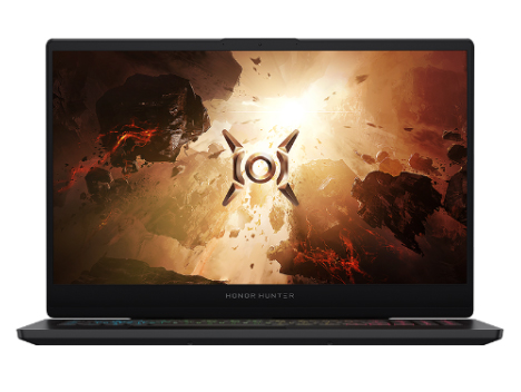 華為 榮耀獵人游戲本HONOR HUNTER V700 16.1英寸 游戲筆記本電腦(i7-10750H 16G 512G RTX2060 144Hz 100\%sRGB)幻夜黑