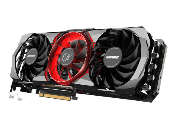 七彩虹(Colorful)iGame GeForce RTX 3090 Advanced OC 24G 1695-1755Mhz GDDR6X视频设计8K游戏电脑显卡