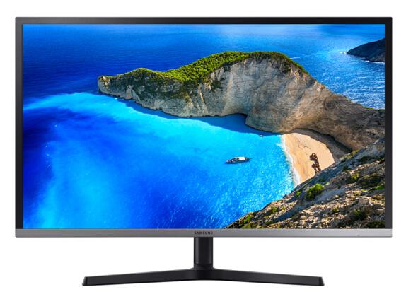 三星(SAMSUNG)31.5英寸 4K/UHD高分 QLED量子点 爱眼 旋转升降 FreeSync PS4液晶电脑显示器U32H850UMC