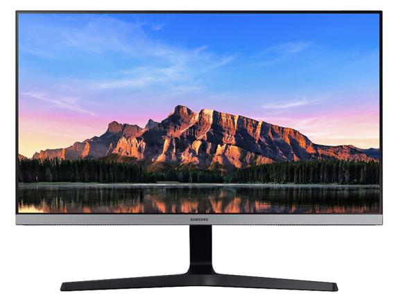 三星(SAMSUNG)28英寸 4K IPS 10.7亿色 Eyecomfort2.0认证 可壁挂 FreeSync 液晶电脑显示器(U28R550UQC)