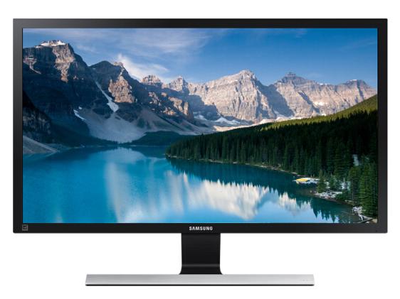 三星SAMSUNG 28英寸 4K/UHD高分辨率 爱眼认证 FreeSync技术 可壁挂 LED背光 液晶电脑显示器(U28E590D)
