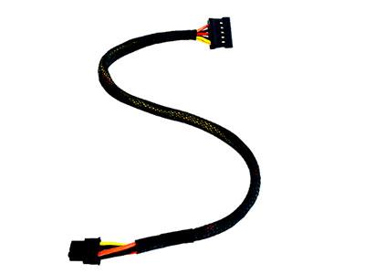 戴尔3668 3650 3660 3268主板迷你小6P转硬盘SSD电源线双SATA供电