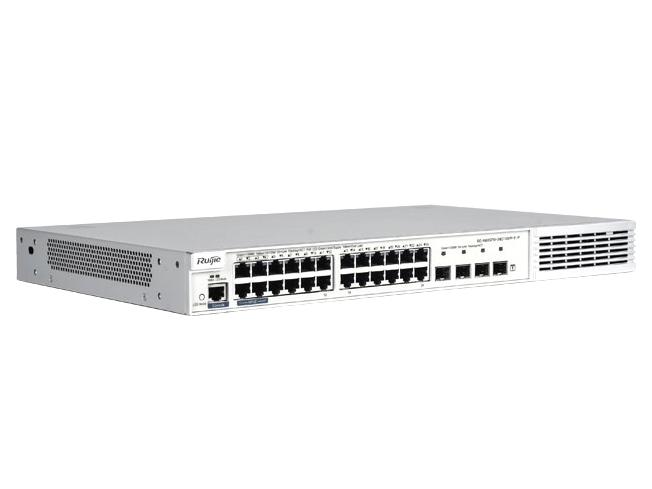 锐捷  RG-NBS5710-24GT4SFP-E-P 安全多业务高性能三层交换机