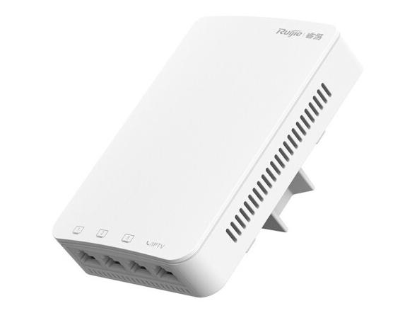 锐捷 RG-RAP1200(E)室内11ac千兆双频面板无线接入点