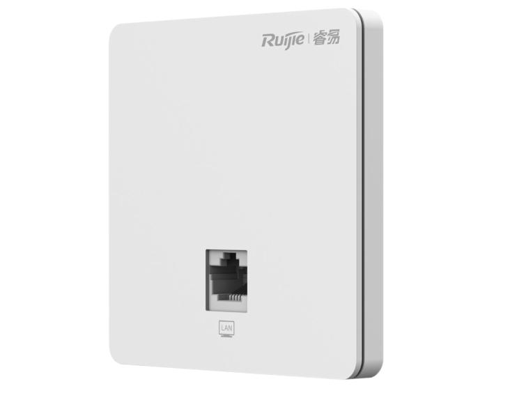 锐捷 RG-RAP1200(F)室内11ac百兆双频面板无线接入点