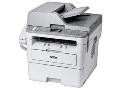 兄弟  MFC-B7720DN多功能一体机 自动双面打印、复印\传真\扫描、打印速度34页/分、2行中文显示、250页纸盒、有线网络、50页自动送稿器、加密打印、30页进纸托板、安全锁功能、专业管理软件、内存128MB、无纸接收\内存发送:500页、PC-FAX、硒鼓DR-B020、粉仓TN-B020