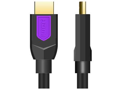 """""""金佳佰业  贵族系列  HDMI A/A   双色模"""" """"家装、工程两用高清线                         一体成型插头、一体稳固镀金端子    信号传输稳定、防断头、防拉断       线规:19+1全铜线芯 1.5M-5M 30# 支持4K/60Hz  OD:7.0MM         10M 28# 支持4K/30Hz    OD:8.0MM         15M 26# 支持4K/30Hz     OD:9.0MM          20M 24# 支持4K/30Hz     OD:9.0MM  """""""