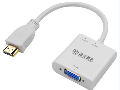 """""""金佳佰业  贵族系列  HDMI/VGA母 畅享版 带音频带供电"""" """"只可HDMI信号转换VGA信号 1.带音频/ 安卓供电                                                                                2.支持1920*1080P及以下显示格式                                   3.材料及PCBA全环保,镀金插头,坚固耐用。                                           """""""