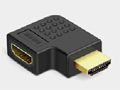 """""""金佳佰业 HDMI AM/AF  90°向左"""""""