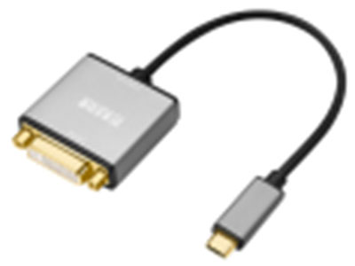 """""""金佳佰业 贵族系列 Type-C/DVI母 转接线"""" """"1.最高支持4K*2K/30Hz                2.即插即用,支持热插拔,铝合金外壳,散热快 3.兼容带USB3.1标准接口的苹果/华为等品牌笔记本电脑和手机【小米/Vivo/OPPO(R17除外)/魅族等手机都是USB2.0标准】"""""""