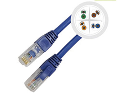 清华同方  6A类非屏蔽数据跳线