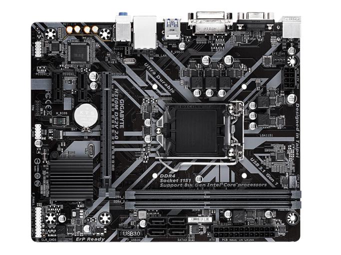技嘉H310M DS2V 2.0