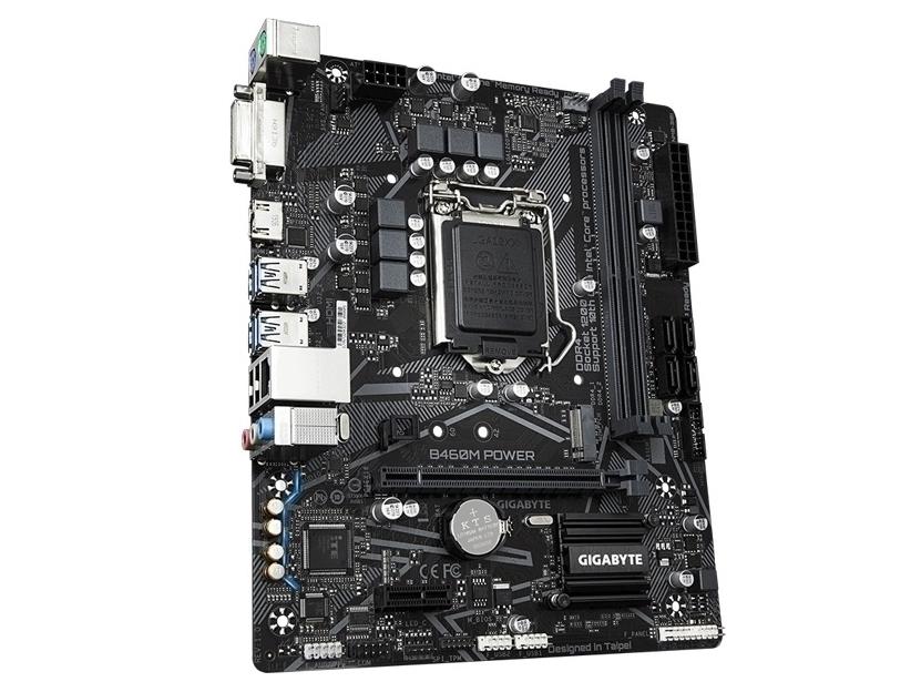 技嘉B460M POWER(工包)(DVI+HDMI+M.2)