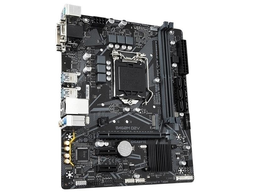 技嘉B460M D2V(VGA+DVI+M.2)