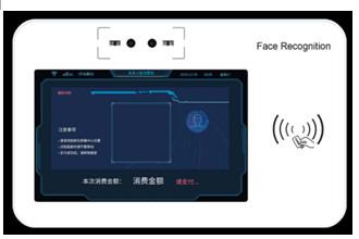 P30安卓动态人脸识别消费挂机人脸支付 ,20000人脸 1000000卡 TCPIP通讯