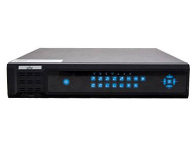 宇视  NVR208-16-DT 8盘位 触摸式按键 16路接入 NVR