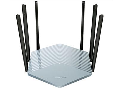 水星  D19G 1900M双千兆无线路由器 高速双频wifi 无线家用穿墙 游戏路由 5G双频智能无线路由