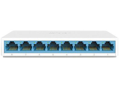 水星  SG108C 8口千兆交换机 网线网络分线器 家用宿舍监控分流器
