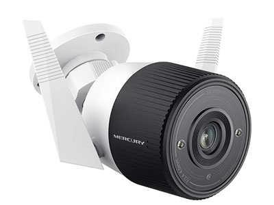 水星  智能无线监控摄像头300万高清家用 室外防水30米红外夜视 网络wifi手机远程 MIPC371-4