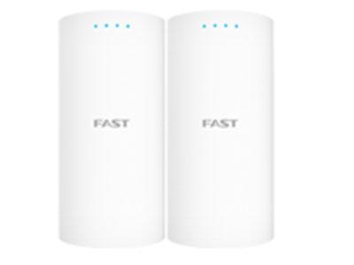 迅捷  FWB201S套装  2.4GHz 无线网桥套装(1公里)