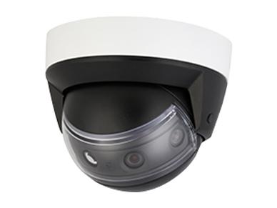 大華 DH-IPC-PDBW8809-A180 800萬全景紅外定焦四目拼接防暴半球網絡攝像機
