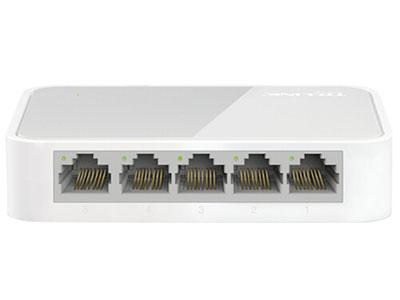 普联(TP-LINK) 5口百兆交换机 4口监控网络网线分线器 家用宿舍分流器 TL-SF1005+