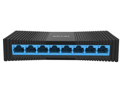 普联(TP-LINK) 8口百兆交换机 监控网络网线分线器 家用宿舍分流器 TL-SF1008+