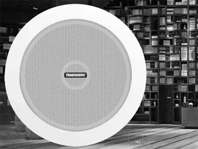 特美声 同轴喇叭  GT-5 额定功率:25W         峰值功率:45W               喇叭单元:5寸        输入电压:100V             灵敏度:92dB         频率响应:70-18000KHz 安装开孔尺寸:165mm