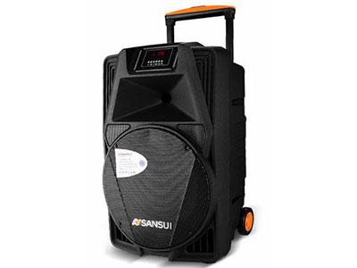 """山水 SS2-12 """"12寸低音,80磁高音 电池:12V/5A 功能:蓝牙、语音、录音、话筒优先、带遥控 单手咪:U-3606DT32S(781.85) 电源适配器:15V/3A 功率:60W"""""""