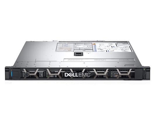 戴尔(DELL)R340 1U机架式服务器 (3.5寸4盘1U)E2124/8G/1TSATA桌面级/350W/热盘热电