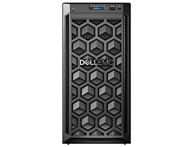 戴尔(DELL)T140  塔式服务器 2224/8G/1TSATA桌面/DVDRW