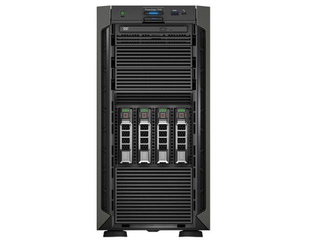 戴尔(DELL)T340  塔式服务器 2224/8G/1TSATA桌面/DVDRW