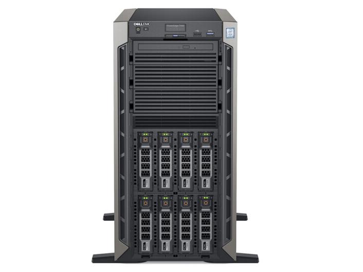 戴尔(DELL)T440  塔式服务器 铜牌3204/0G/600G2.5寸10K/H330/DVDRW/450W/冷冷
