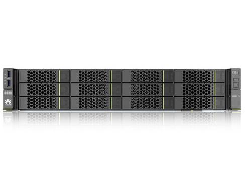 华为(HUAWEI)2288H V5 2U机架式存储服务器主机 企业级电脑12盘 国产云计算 双颗铜牌3204 12核 1.9GHz 双电 16G内存2T SATA*2SR130