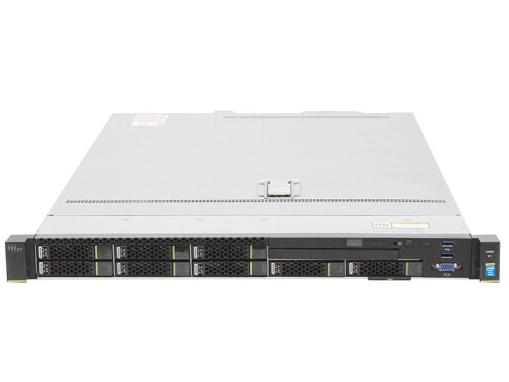 华为(HUAWEI)1288H V5服务器主机 1U机架式 4盘 GPU高性能云计算虚拟化 3年质保 单颗4110 8核2.1G550W*1 16G/3*4T SATA 7.2K/SR430