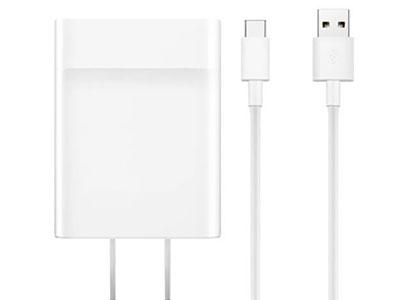 华为USB-C电源适配器65W白色
