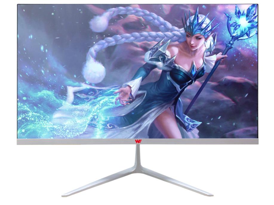 """WE E228 显示器 21.5"""" 一体背光无边框/接口下出/壁挂/16:9/VGA+HDMI/75Hz/1920×1080/180cd/㎡/5ms 可视角度178°"""
