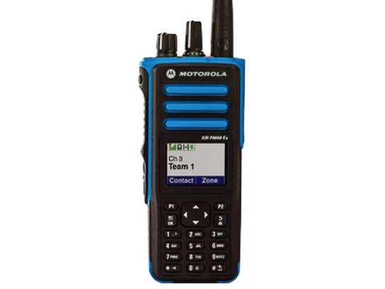 摩托罗拉 p8668ex  防爆对讲机 IP67级防护  信号强  防水防尘  智能降噪  通话距离远