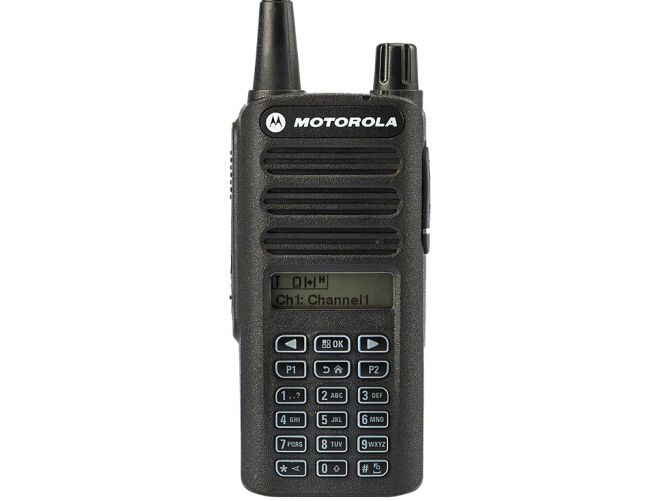 摩托罗拉 C2660 数字对讲机 便携式全键盘可手动调频手台
