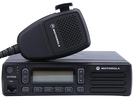 摩托罗拉 M3188数字车载电台大功率 数字显屏 数模两用