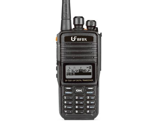 北峰(BFDX)数字对讲机BF-TD501 加密商用手台 AMBE+2语音对讲机