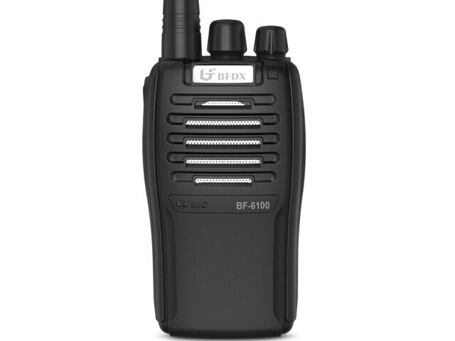 北峰(BFDX)对讲机 BF-6100Ⅱ无线对手台 酒店餐厅工地手持对讲器