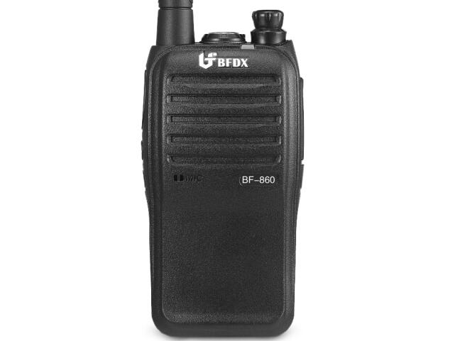 北峰(BFDX)BF-860对讲机民用工程大功率手台 5W建筑物业无线专业手持机