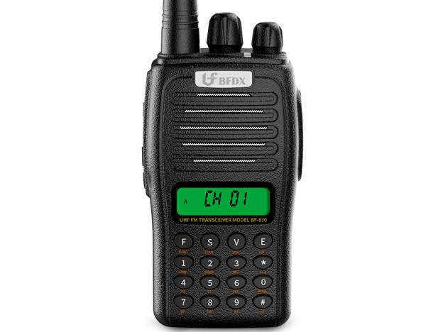 北峰(BFDX)BF-630对讲机物业工地码头民用大功率5W无线专业手台
