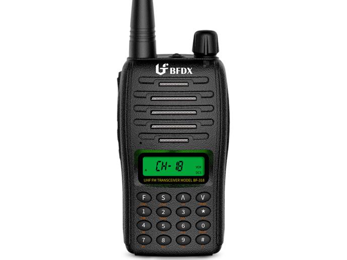 北峰(BFDX)BF-318对讲机专业无线民用商用迷你手台 长待机