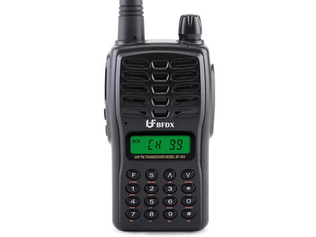 北峰(BFDX)BF-320对讲机专业无线民用商用迷你手台 手动改频