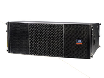 威皇  線陣音箱 VR-210 重量輕,體積小,易形成隱藏的PA;全釹磁單元打造;頻率與相位都有平直與出色的響應曲線,聲像準確;恒Q值號角均勻覆蓋;可轉換的全頻與分頻電路設計。