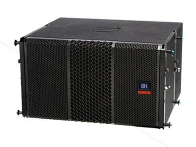 威皇  線陣音箱VR-L10 高性能無源次低頻揚聲器,采用高品質材料制成。擁有毫不突兀的設計以及高保真、深沉的低頻響應。 VR-L10可在各種心形應用中操作。 VR-L10擁有一個10寸高品質低頻驅動單元
